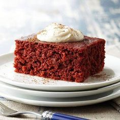 Red Velvet Pumpkin Bars