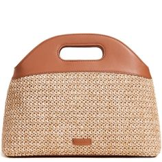 Steven Alan Blake Basket Tote (¥31,255) ❤ liked on Polyvore featuring bags, handbags, tote bags, natural, tote bag purse, steven alan, beige tote handbags, lined tote bag and tote handbags