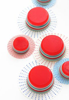 4th of July Jello Shots by Bakers Royale
