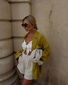 🌾🌾🌾 Yves Saint Laurent, Future Fashion, Goa, Tight Dresses, Style Guides, Spring Summer Fashion, Romper, Cool Style, Kimono Top