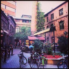 Inside Kehräsaari, Tampere, Finland. #tampereblog #tampereallbright