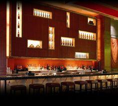 Nobu Restaurant at Atlantis in the Bahamas. Gorgeous.