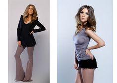 Adela Popescu a lansat o colectie de haine alaturi de Dana Budeanu on http://www.fashionlife.ro
