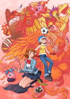 Sora Takenouchi | Digimon • Art by Eclosion