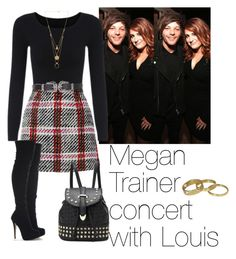 """Megan Trainer concert with Louis"" by cheyenne-stock ❤ liked on Polyvore featuring Carven, Marni, Topshop, Maison Margiela and Scotch & Soda"
