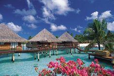 One day.... I WILL be here... in Bora Bora<3