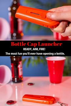 Be locked and ready to load with our Bottle Cap Launcher Keyring. Please note, not to be shot at people or animals, this is a purely fun product. Game Of Thrones Live, Iron Throne Game, Game Of Thrones Merchandise, Cheap Games, Sugar Free Desserts, Peace Of Mind, Cap, Note, Mugs
