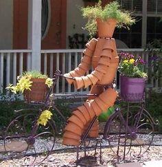 D coration murale ou jardini re v lo j 39 aime bien - Decoration jardin velo ...