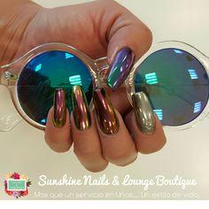 Conócenos, síguenos, compártenos... f/ Sunshine Nails & Lounge Boutique @Diana Leemoon #Uñas #UñasAcrílicas #Nails #NailArt #DianaLeemoon