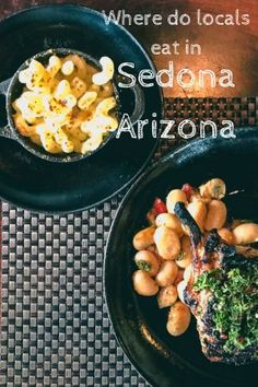 Local recommended and Passports to life approved places to eat in Sedona Arizona for Breakfast, Lunch and Dinner
