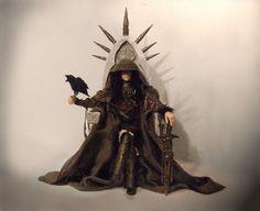 'THE MORRIGAN' AND HER CROW by OLDEREALMS.deviantart.com on @DeviantArt