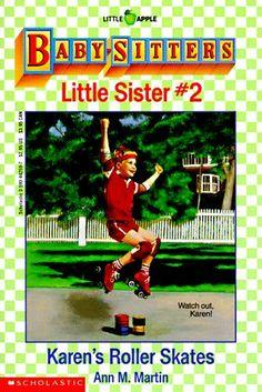 Baby-Sitters Little Sister books, starring Karen Brewer!
