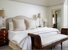 Monogram Bedding