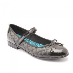 Startrite Gossip Black Leather Patent School Shoe Size 2 2.5 3 3.5 4 4.5 5  5.5 6 00252a7d1