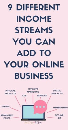 Grow Your Online Business By Adding Multiple Income Streams To Your Blog - Make Passive Income To Make Money Blogging! | Stacy Tuschl | She's Building Her Empire |