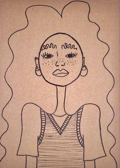 Indie Drawings, Art Drawings Sketches, Cool Drawings, Arte Indie, Indie Art, Pretty Art, Cute Art, Funky Art, Psychedelic Art