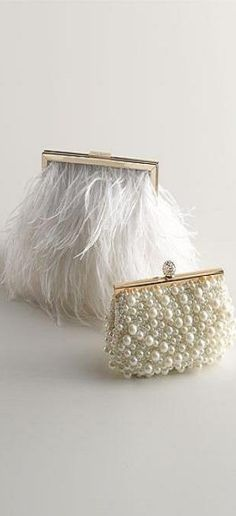 - feathers and pearls -