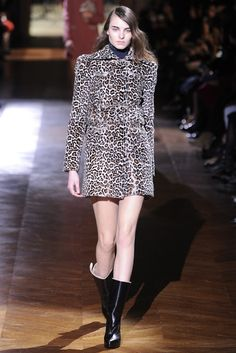 Carven RTW Fall 2014 - Again, even though i hate animal print.