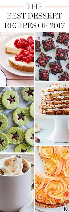 The Best Dessert Recipes of 2017, Hands Down, No Contest #purewow #recipe #food #dessert #cooking #baking
