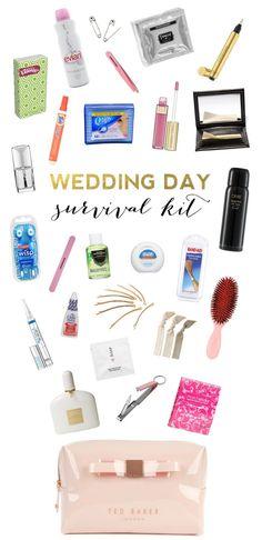 Kit de supervivencia para la boda