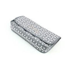 Grey Florence Curling Iron Case. Can be personalized with name or initials. Cute!!