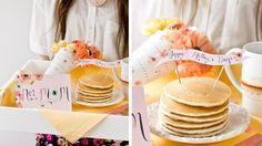 pancakes petit déjeuner fete des meres