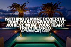 Are you CONVICTED? #motivation #success #advocare