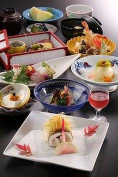 Kaiseki(懐石料理)**