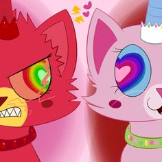 Unikitty and Angry Kitty