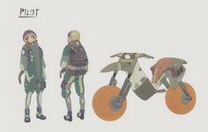 ArtStation - Bernat Argemi's submission on Beyond Human - Character Design