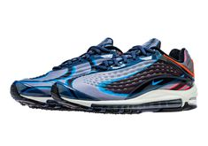 quality design 8ac17 cc381 The Nike Air Max Deluxe Is Releasing In Navy And Red Tennarit Nike, Nike  Kengät