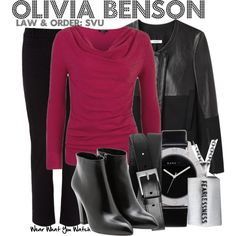 Inspired by Mariska Hargitay as Olivia Benson on Law & Order SVU.