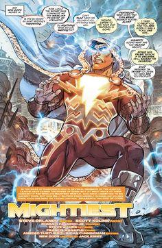 """Justice League: Darkseid War - Shazam 1"" preview"