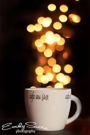 bokeh light coffee - Google Search