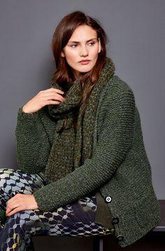 Lana Grossa JACKE Lala Berlin Softness - Design Special No. 4 - Modell 26 | FILATI.cc WebShop
