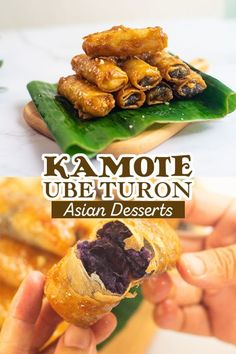 These crunchy, sweet, and delicious Kamote Turon will wow your Filipino family! It's simple to make, vegan, and addicting!