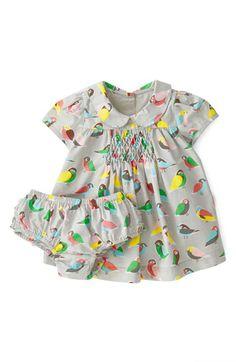 Mini Boden 'Pretty Printed' Tea Dress (Baby Girls) | Nordstrom