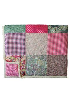 Gorgeous patchwork quilt $110