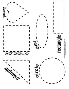 Shapes coloring worksheets kindergarten myscres toddler activity sheets shape pages preschoolers preschool printable educational fun printed Preschool Activities, Preschool Shapes, Shape Activities, Shape Coloring Pages, Printable Shapes, Shape Templates, Free Preschool, Education Quotes For Teachers, Activity Sheets