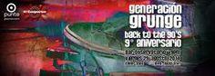 Generacion Grunge, 9 aniversario, Back to the 90´s!!!http://www.desktopcostarica.com/eventos/2014/generacion-grunge-9-aniversario-back-90-s