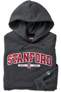 Hooded Stanford EST. Sweatshirt | Stanford University | it just looks so comfy!