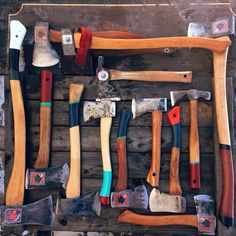 Hatchet and Axe Collection  - Chris @cooperhill