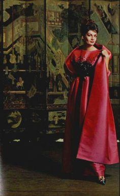 Nina Ricci Outfit - 1962  L'Art Et La Mode No.6