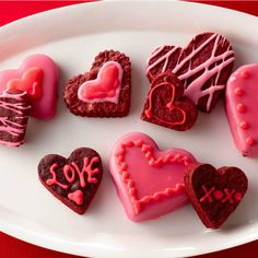 Turn an easy brownie mix into a Valentine's Day treat with a heart-shaped cookie cutter.