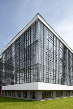 Bauhaus Building in Dessau by Walter Gropius