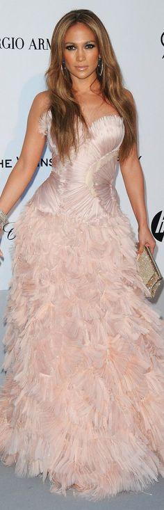 Jennifer Lopez in Roberto Cavalli dress