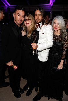 UHQ - Jared With Shannon Leto, Stevie Nicks, Constance Leto
