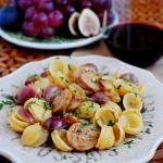 Sausage, Grape & Pasta Skillet
