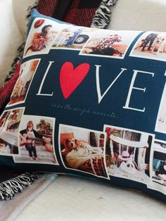 Turn your photos into home decor with custom pillows! Our pillows add a cozy, personalized touch that you'll LOVE. | Shutterfly