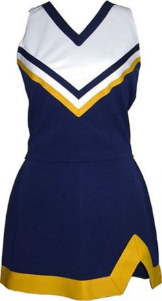Cheerleading Uniform (Cheerleading Uniform) Source by Cheerleading Outfits, Cheerleading Equipment, Cheerleader Halloween Costume, Cheerleaders, Cheer Outfits, Dance Outfits, School Cheerleading, Blue Cheer, Costume De Majorette
